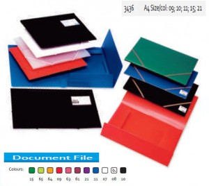 Supplier ATK Bantex 3436 PP Document File A4 Harga Grosir