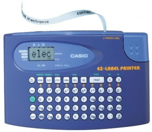 Supplier ATK Casio KL-60 Label Printer Harga Grosir