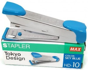 Supplier ATK Max HD-10 Stapler Sky Blue Harga Grosir