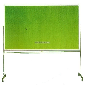 Supplier ATK Sakana Papan Softboard Bludru Kaki 60 x 90 Harga Grosir