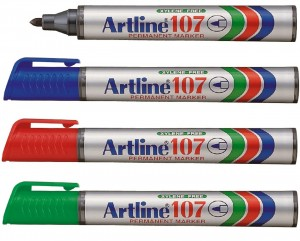 Supplier ATK Artline 107R Spidol Permanent Refill Harga Grosir