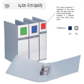 Supplier ATK Bantex 1391 Pipe Binder A4 Capacity 8 cm Harga Grosir