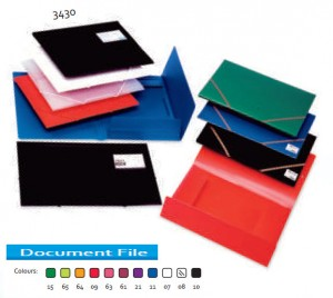 Supplier ATK Bantex 3430 PP Document File A4 Harga Grosir