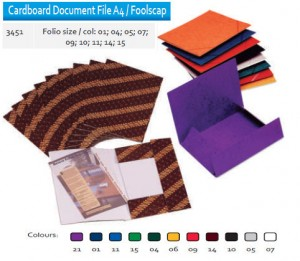 Supplier ATK Bantex 3451 Cardboard Document File F4 Harga Grosir