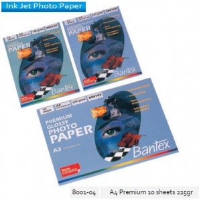 Supplier ATK Bantex 8001-04 Premium Photo Paper A4 10's 228 gr Harga Grosir