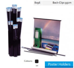 Supplier ATK Bantex 8096-10 Poster Holder Back Clip 95 cm Harga Grosir