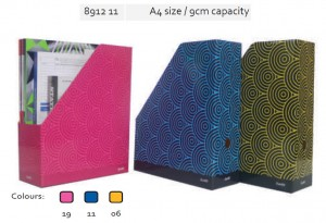 Supplier ATK Bantex 8912 Box File Fancy A4 9 cm Harga Grosir