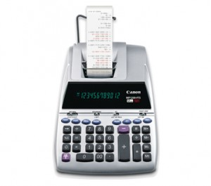 Supplier ATK Canon MP1200-FTS Kalkulator Printer (12  Digit ) Harga Grosir