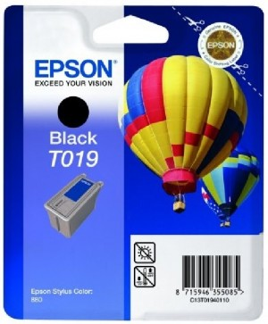 Supplier ATK Epson T019 Black Ink Cartridge Harga Grosir