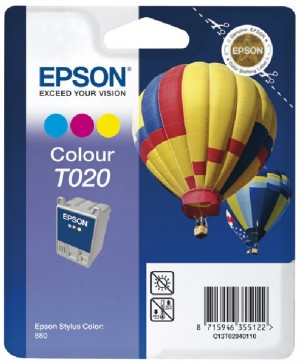 Supplier ATK Epson T020 Colour Ink Cartridge Harga Grosir