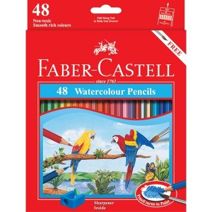 Supplier ATK Faber Castel 114468 Pensil Warna Cat Air 48 L Harga Grosir