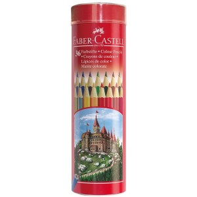 Supplier ATK Faber Castel 115828 Pensil Warna Round 36 L Harga Grosir